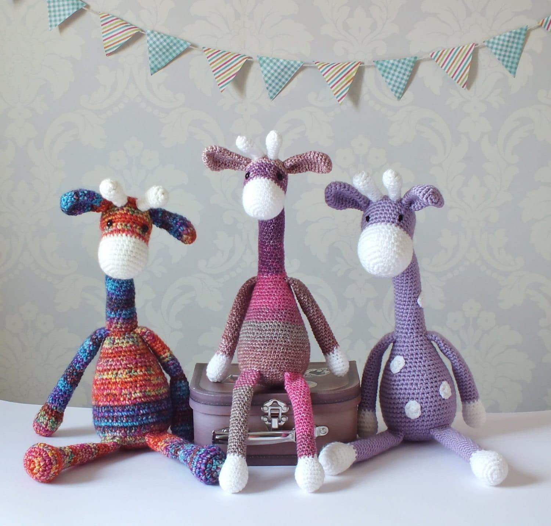 Crochet Giraffe Amigurumi Pattern PATTERN ONLY PDF Download