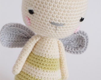 Honey the Bee Soft Toy Stuffed Animal Ready To Ship