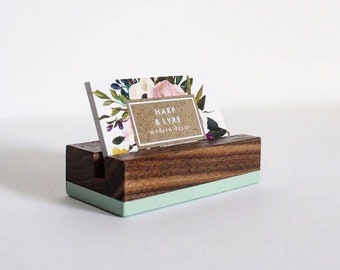 Wood business card holder etsy best selling items colourmoves