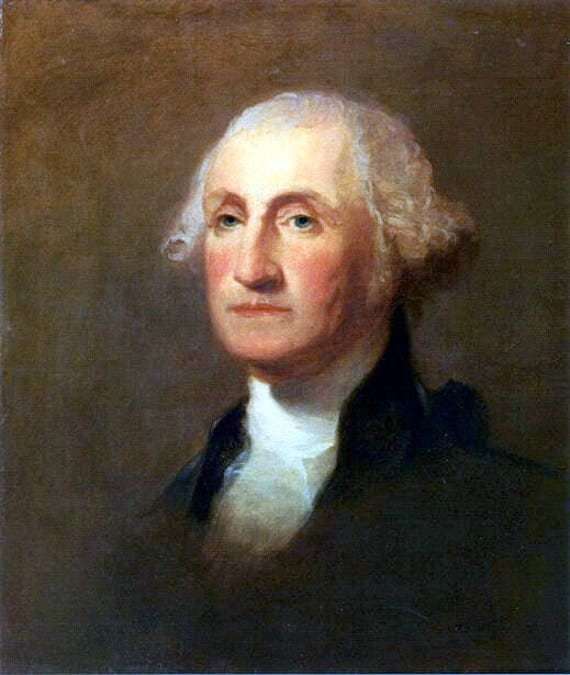 picture about Printable Pictures of George Washington named George Washington by means of Thomas Sully, 1783-1872, US Presidents1st american president, 8x10\