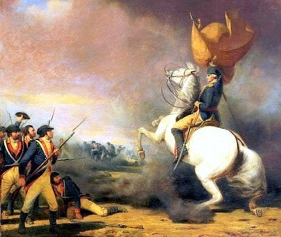PRESIDENT GENERAL GEORGE WASHINGTON  REVOLUTIONARY WAR 8X10 PHOTO POSTER PICTURE