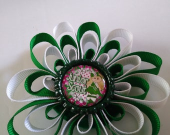 Girl scout junior hair bow