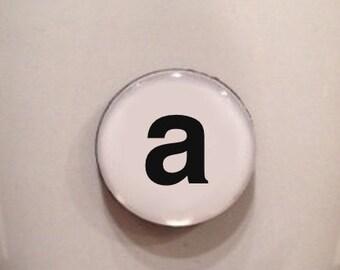 Mini Quote Magnet | Custom Letter/Number/Symbol