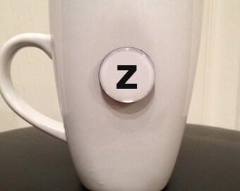 Mini Quote Magnet   Letter 'z'