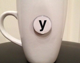 Mini Quote Magnet | Letter 'y'