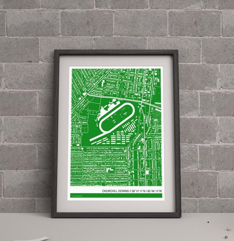 Churchill Downs Racetrack Map on louisville map, texas motor speedway map, santa anita map, elizabethtown map, cave hill cemetery map, emerald downs map, madison square garden map,