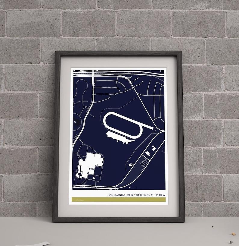 Santa Anita Park Map