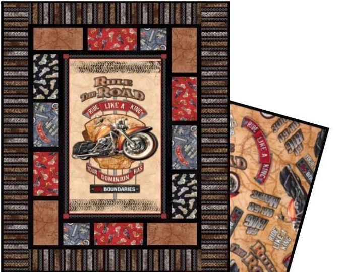 Featured listing image: Motorcycle Quilt