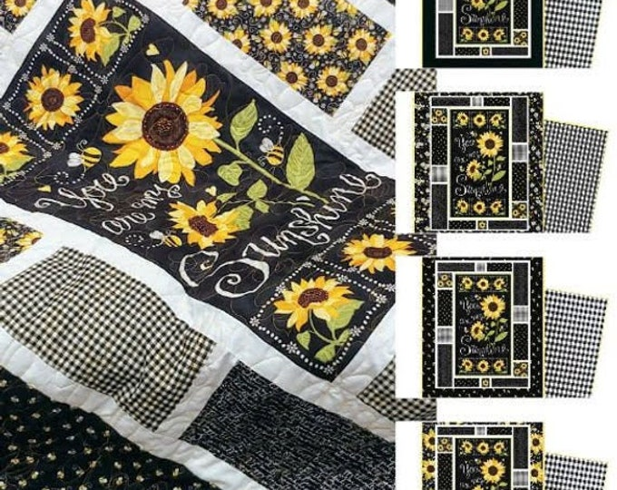 Featured listing image: You Are My Sunshine Quilt