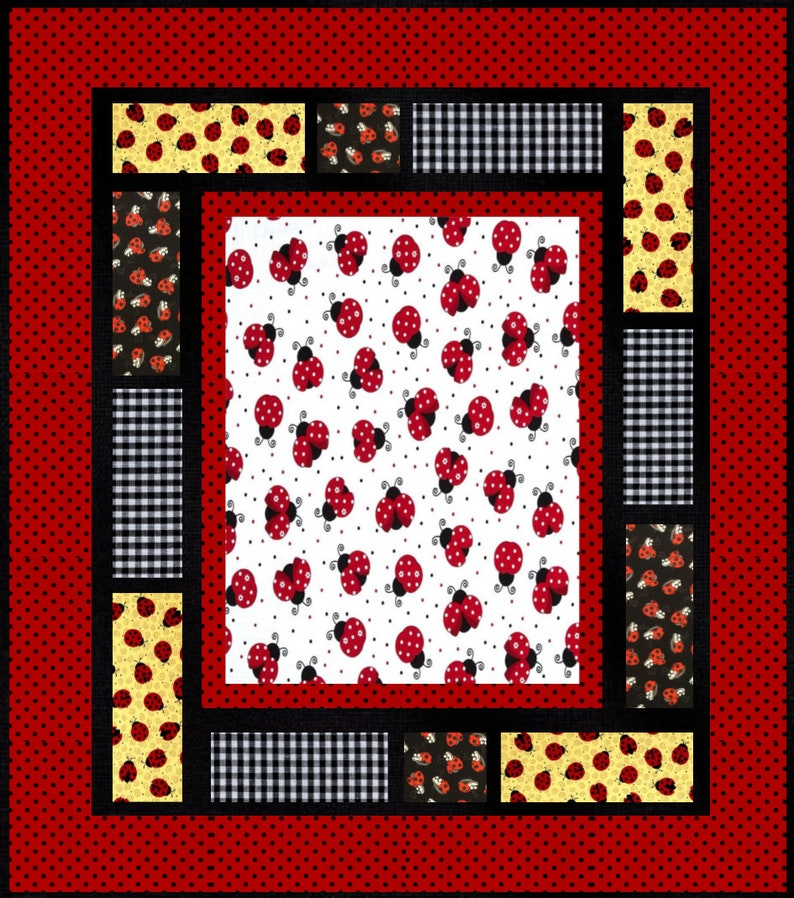 twin size Quilt Quilt for sale king size crib size full size Ladybug baby quilt patchwork quilt queen size