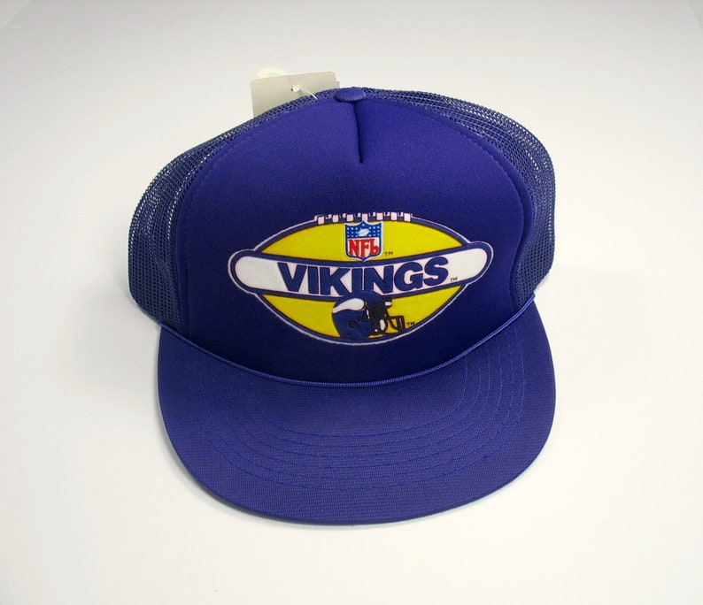 Vintage 80s Minnesota Vikings Cap snapback NFL football team  81c9e5889