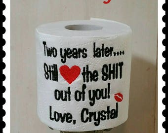 2 year anniversary cotton gift ideas for him