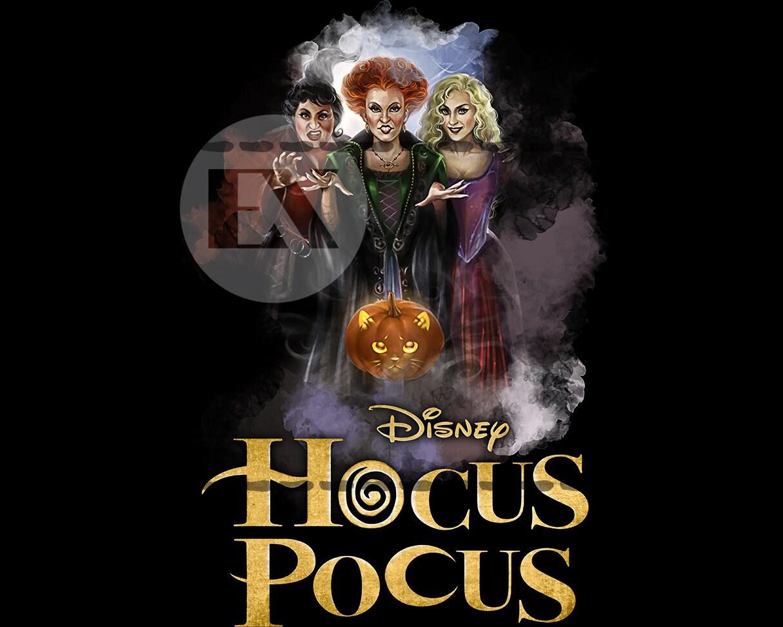 Hocus Pocus Halloween PNG - Sanderson Sisters Hocus Pocus Characters sublimation design fall PNG clipart File Digital Download