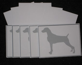 Weimaraner Note Cards