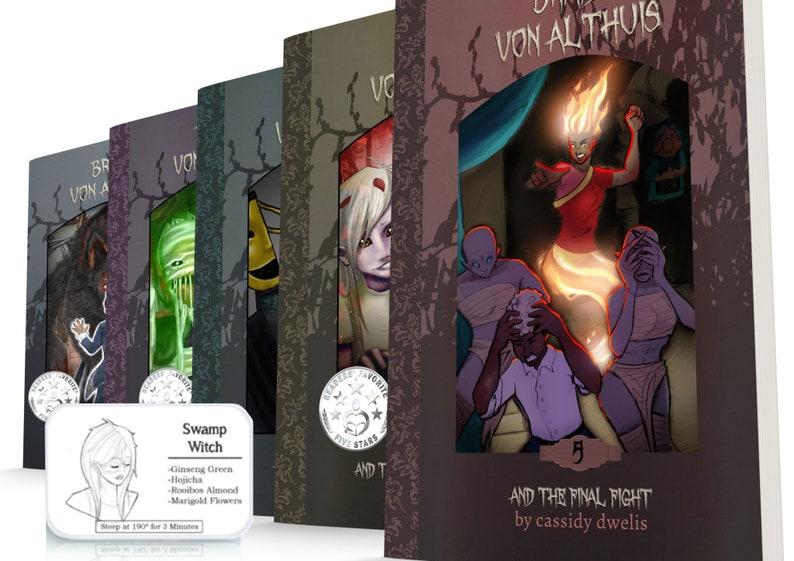 Braidy von Althuis Series Book Set with Custom Tea Blends  image 1