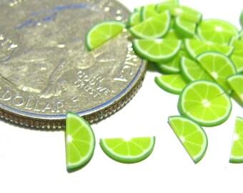 Lime Fruit Halve Slices 40pcs