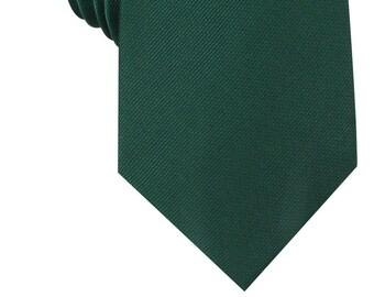 557eeb1cc115 Dark Green Twill Weave Texture Necktie (M587-T85) Mens Neckties 8.5CM Wide Men  Ties Tie Wedding Groomsmen Grooms Men