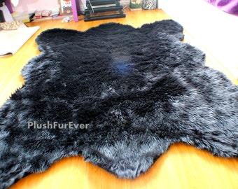 Fake Bear Rug >> Fake Bear Skin Rug Etsy