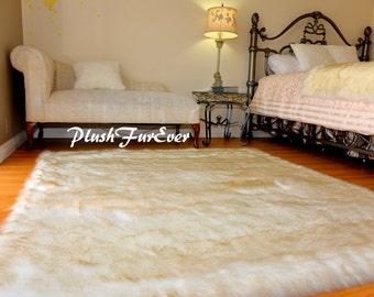 f64f2e0edb2 Top Seller Extreme Plush Gold Tip White Polar Bear Best Fur in Stock Luxury  Rug Rectangle Faux Fur Area Rug 3