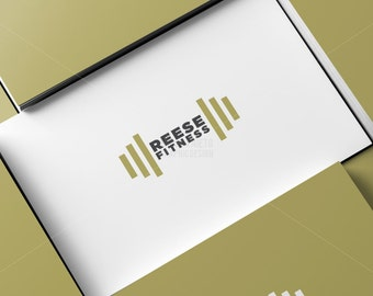 Custom printable personal trainer business card template etsy custom personal trainer logo fitness coach logo fitness trainer flashek Images