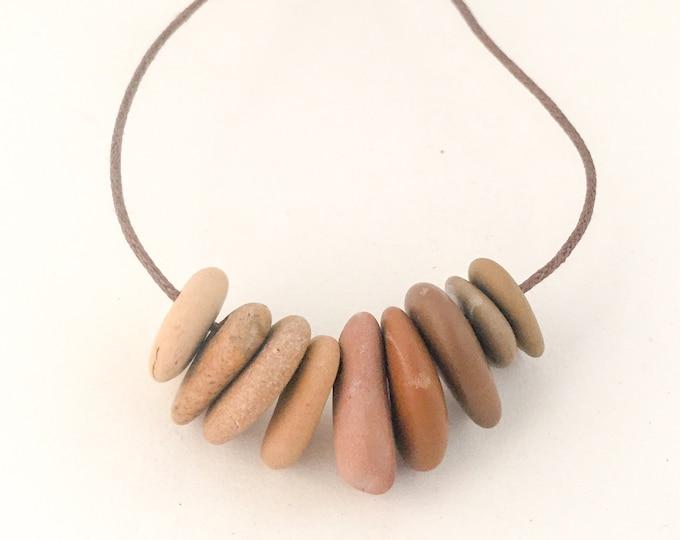 stone necklace STEPS