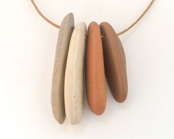 stone necklace LINES