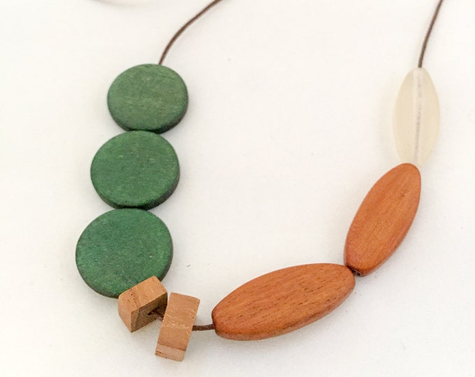 bead necklace FORESTS