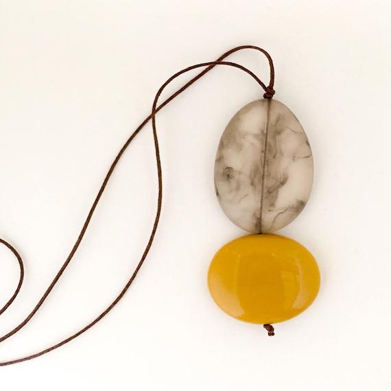 bead necklace RESONATE