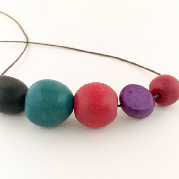 bead necklace SHAPELY
