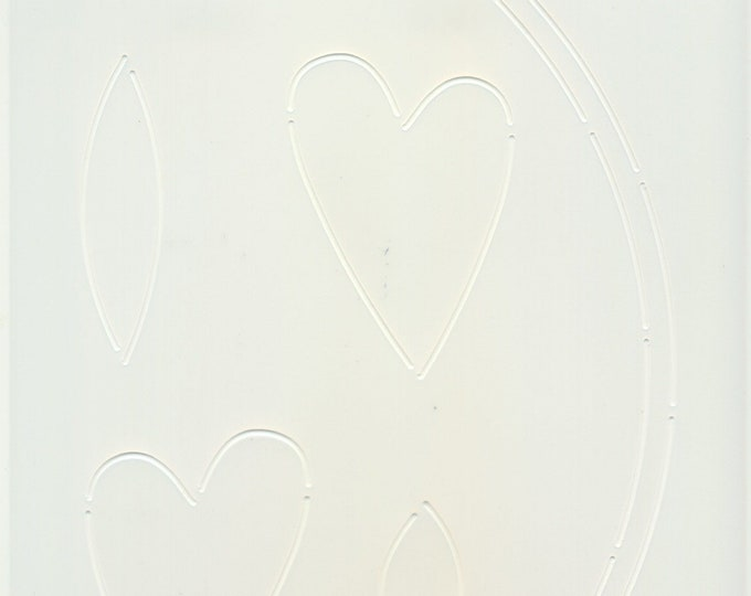 Stencil - Sew In Love - Edyta Sitar - Laundry Basket Quilts - Moda - LBQ-0708-T
