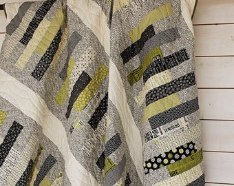 Stacked Quilt Pattern - Sweetwater - Authentic Etc. - Moda - SW P251