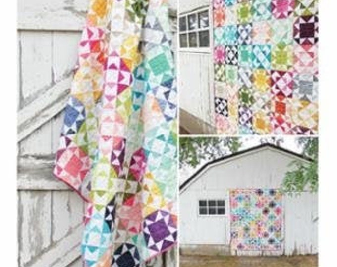 Ombre Endless Summer Quilt Pattern - Moda- V and Co. - Vanessa Christenson - VC 1252