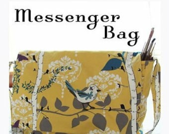 Messenger Bag Quilt Pattern - Sewing Cards - Valori Wells Designs - VWD 96