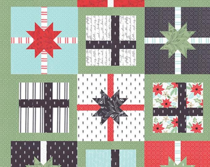 Hustle & Bustle Quilt Pattern Fabric Kit - Moda - Lella Boutique - Little Tree - KITLB180