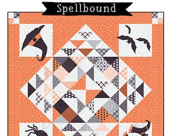 Spellbound Quilt Pattern - Midnight Magic - The Quilt Factory - Moda - QF 1930