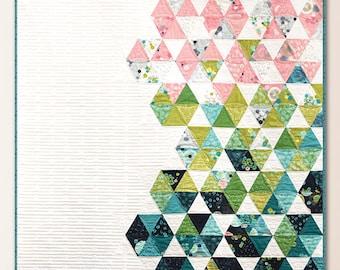 Spring In Paris Quilt Pattern - Zen Chic - Brigitte Heitland - Moda - Dance in Paris - ZC SPQP