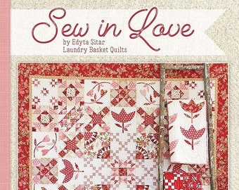 Sew In Love Quilt Pattern Book - Edyta Sitar - Laundry Basket Quilts - ISE-923