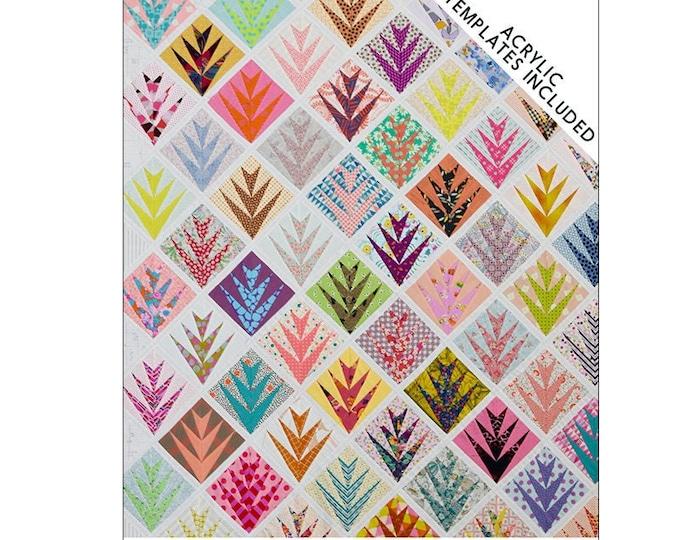 Double Date - Acrylic Templates - Quilt Pattern Included - Jen Kingwell - Jen Kingwell Designs - JKD 8427