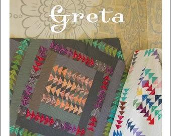Greta Quilt Pattern - Sewing Cards - Valori Wells Designs - VWD 408