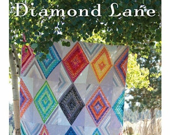 Diamond Lane Quilt Pattern - Sewing Cards - Valori Wells Designs - VWD 410