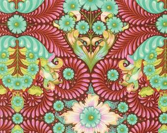 1/2 Yard - Slow & Steady - The Tortoise - Orange Crush - Tula Pink - FreeSpirit - Fabric Yardage - PWTP085.ORANG