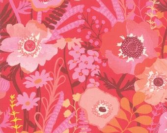 Sale!! 1/2 Yard - Botanica - Geranium - Crystal Manning - Moda - Fabric Yardage - 11840 14