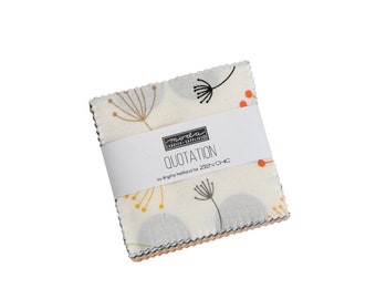 Quotation - Zen Chic - Moda - 42 Pieces - Mini Charm Pack - 1730MC