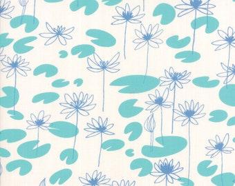 Sale!! 1/2 Yard - Botanica - Monet - Porcelain - Crystal Manning - Moda - Fabric Yardage - 11843 11
