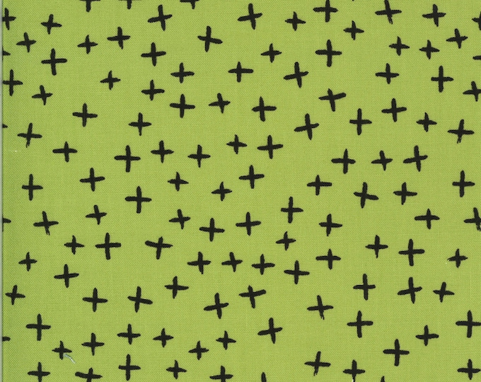1/2 Yard - Quotation - Pistachio - Zen Chic - Moda - Fabric Yardage - 1734 20