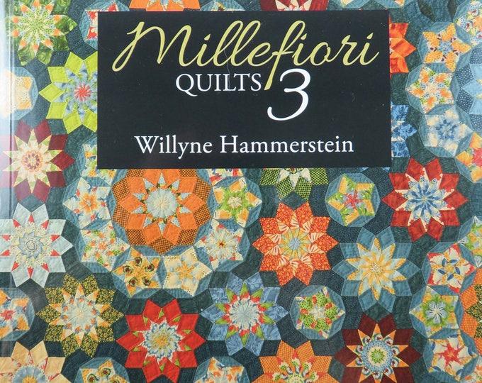 Millefiori Quilts 3 - Willyne Hammerstein - Paper Piecing - Quiltmania - QM 0396
