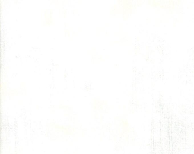 """1/2 Yard - Grunge Basics - 108"""" White Paper - BasicGrey - Moda - Fabric Yardage - 11108 101"""