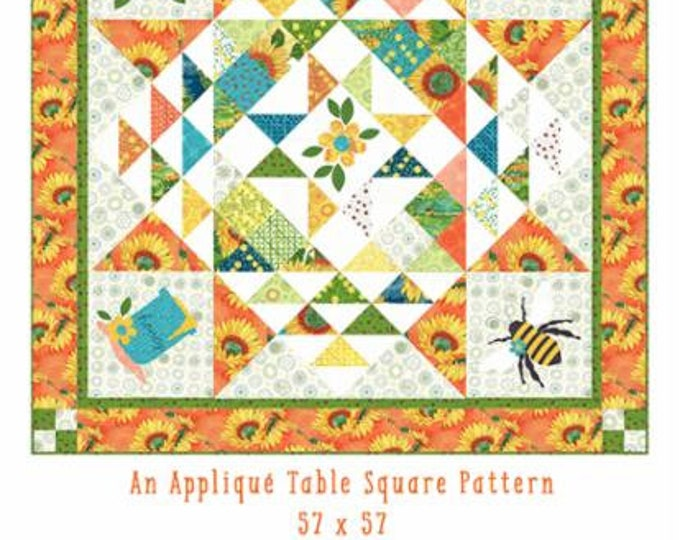 Bee My Honey Quilt Pattern - Solana - The Quilt Factory - Moda - QF 2014