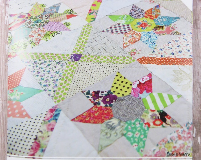 Florence Quilt - Acrylic Templates - Pattern Included - Jen Kingwell - Lucy Carson Kingwell - JKD 5996