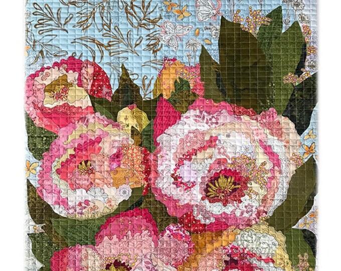 Florology Collage Quilt Pattern - Laura Heine - Fiberworks - LHFW FLOR